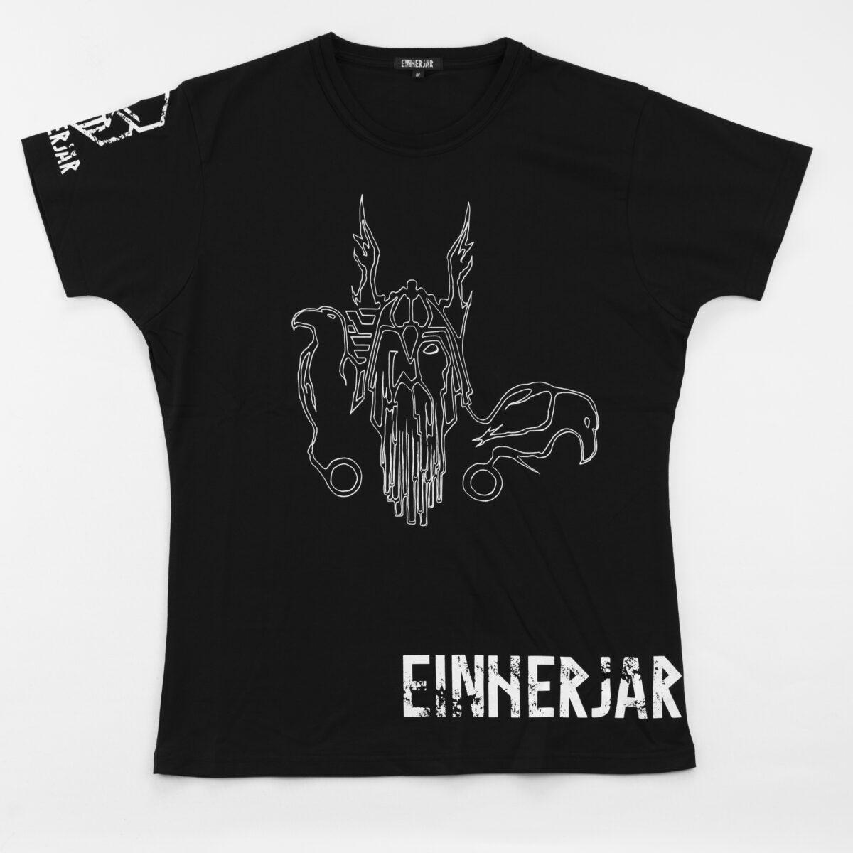 buy odin tshirt allfather ravens huginn muninn wolves geri freki einherjarwear norse fitness apparel viking inspired clothes