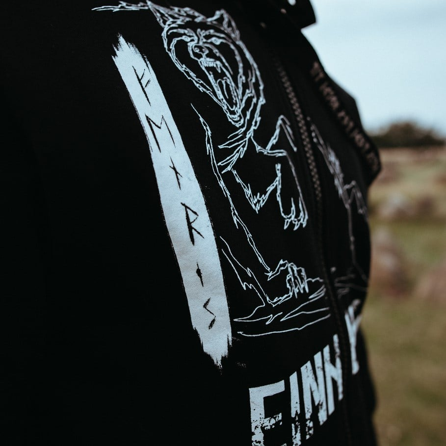Einherjar Fenrir hoodie
