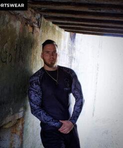 einherjarwear sportswear and fitness gear viking rashguard Jotunhide