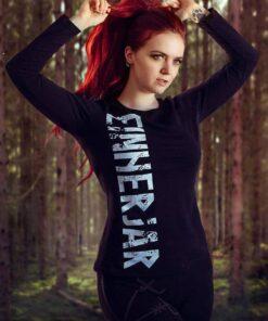 einherjarwear female long sleeve streetwear viking shirt
