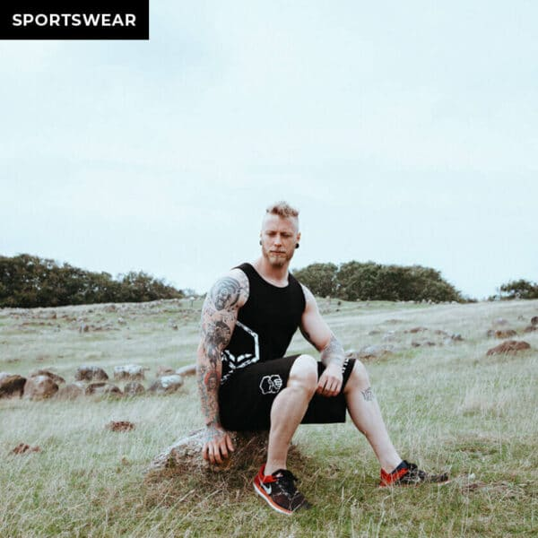 einherjar modern viking fitness shorts